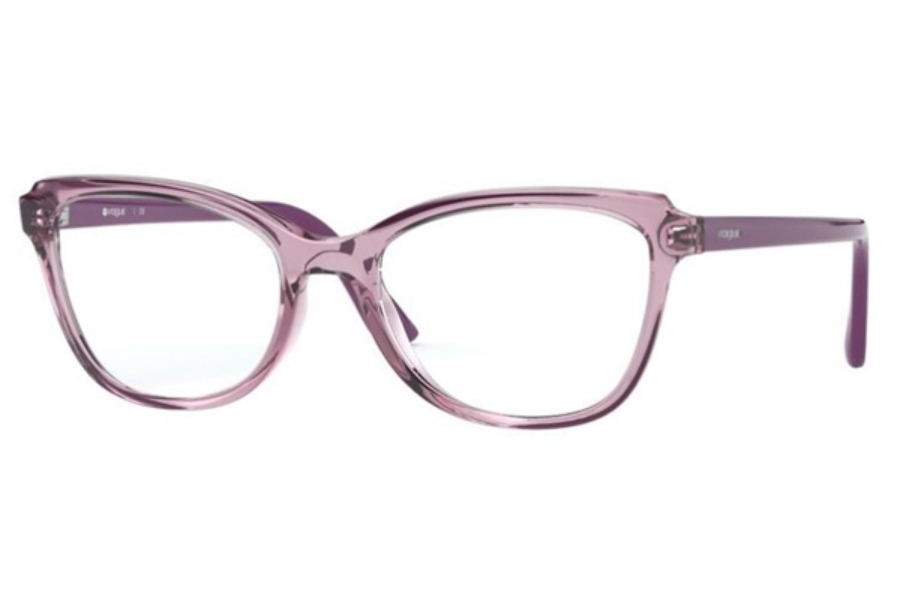 Vogue VO 5292 Eyeglasses in 2765 Transparent Violet/Violet