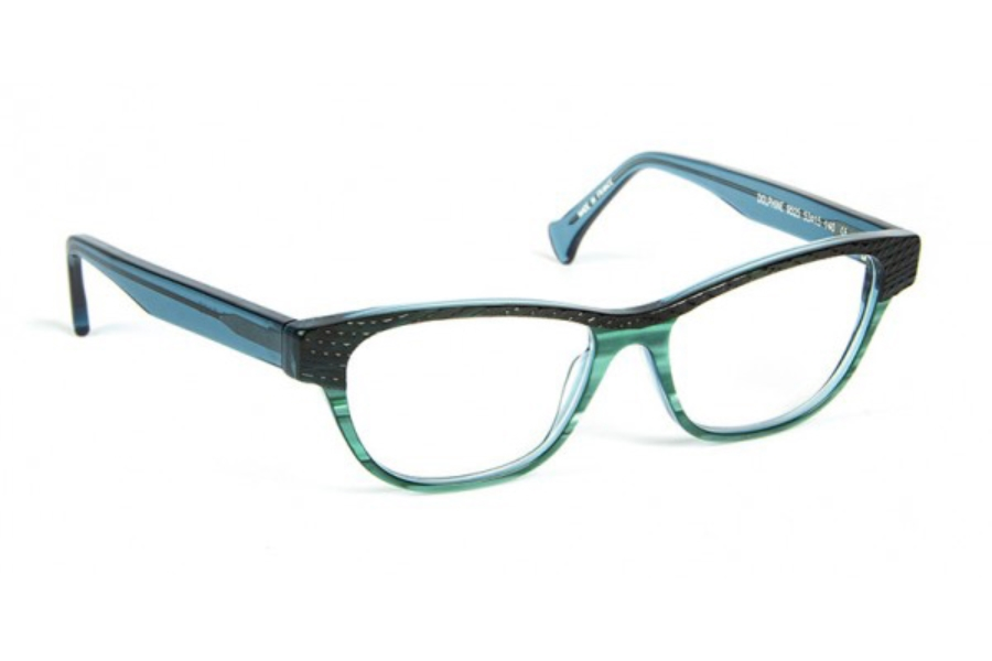Volte Face Paris Dolphine Eyeglasses in 9525 Demi / Turquoise