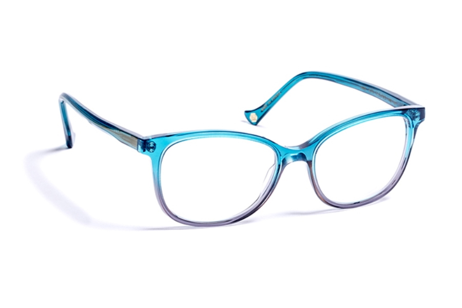 Volte Face Paris Jane Eyeglasses in 2075 Gradient Turquoise/Plum