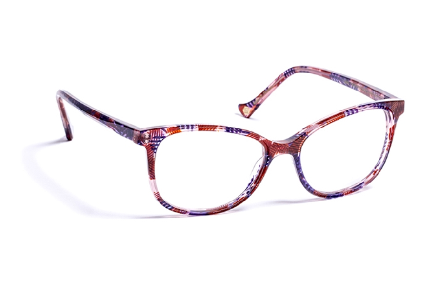 Volte Face Paris Jane Eyeglasses in 3670 Spotlight Burgundy/Purple