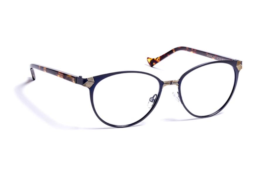 Volte Face Paris Jasmine Eyeglasses in 2555 Navy/Gold