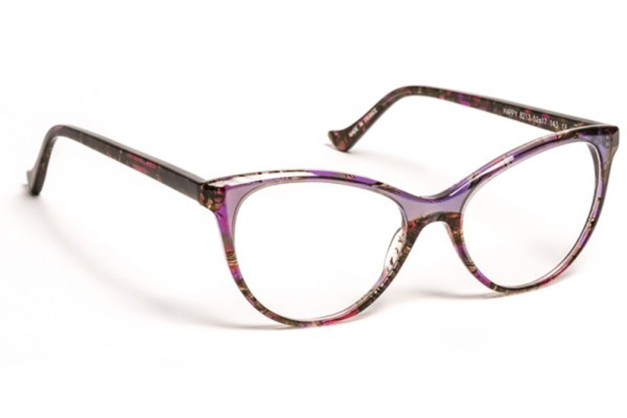 Volte Face Paris Happy Eyeglasses in 8213 Pink Demi/Crystal Boreal