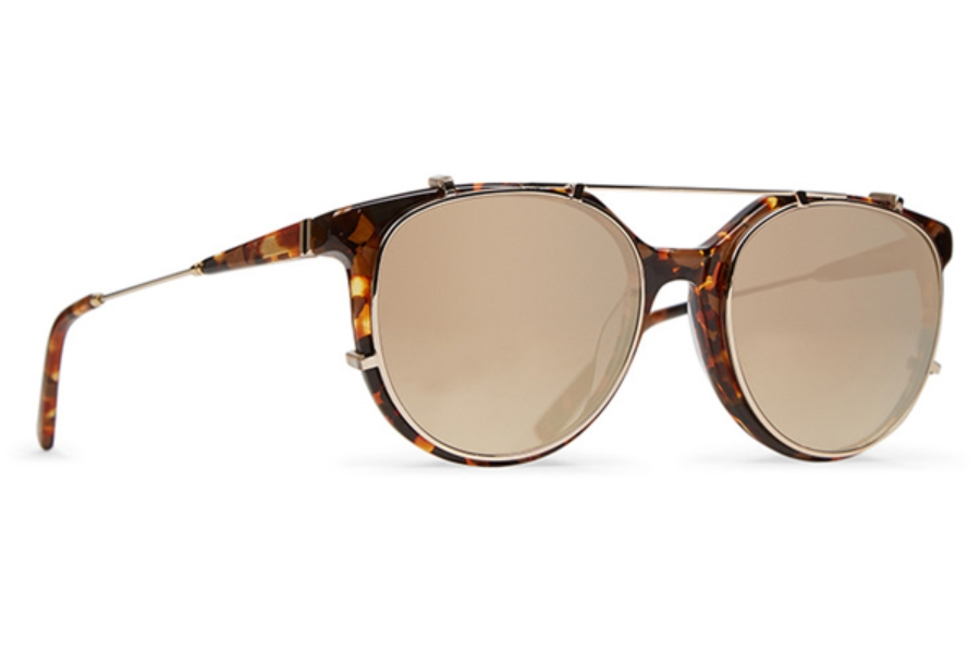 Von Zipper Hyde Sunglasses in TGD Golden Tortoise / Flash Gold Chrome Gradient