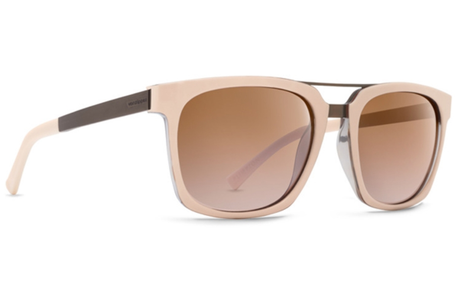 6a6afbcb41ea8 ... Von Zipper Plimpton Sunglasses in NSD Nude Tortoise   Silver Flash  Von  Zipper Plimpton Sunglasses in KDR Black Satin   Rust Gradient ...