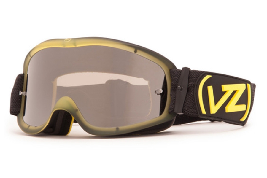 Von Zipper Sizzle Mx Goggles in BYE MindGlo Yellow / Black Chrome