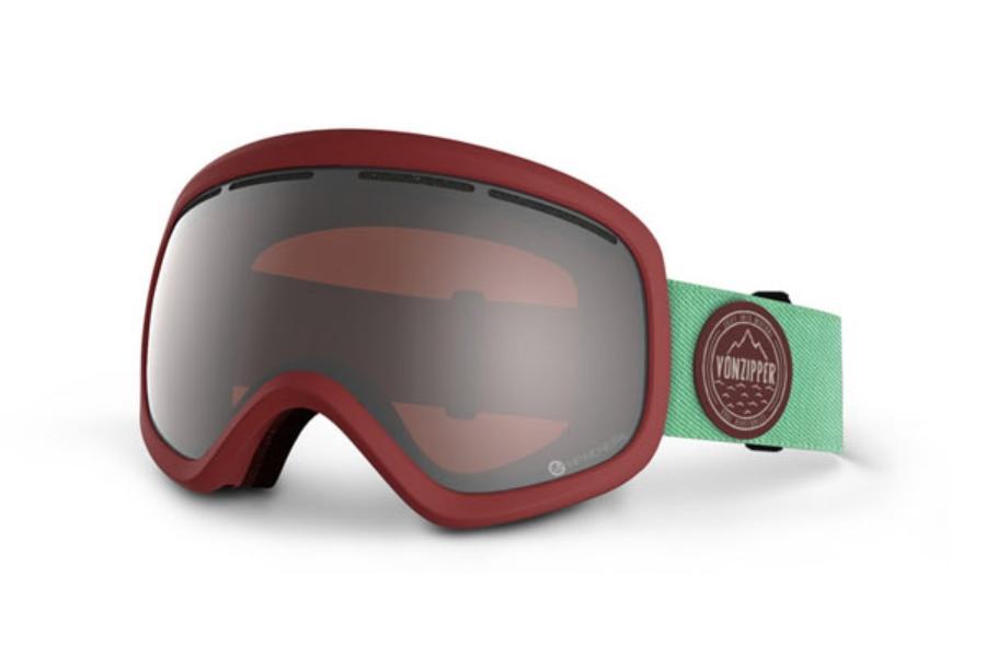 bd172fa4f7a3 ... Von Zipper Skylab - Continued Goggles in SIR S.I.N. Maroon   Persimmon  Chrome ...