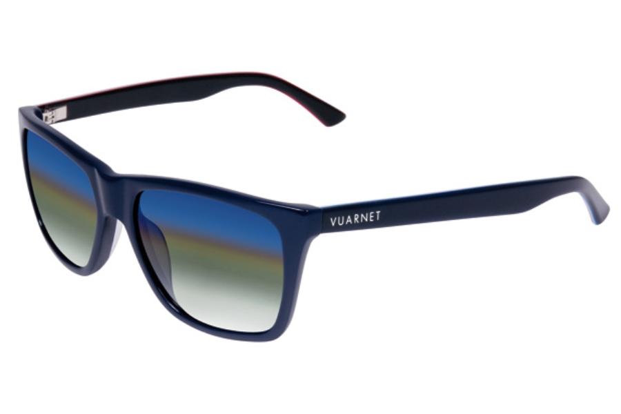cbbbb700aa6 Vuarnet VL 1301 Sunglasses in VL1301R01D1140 Blue Flag Blue V Acetate Full-  ...