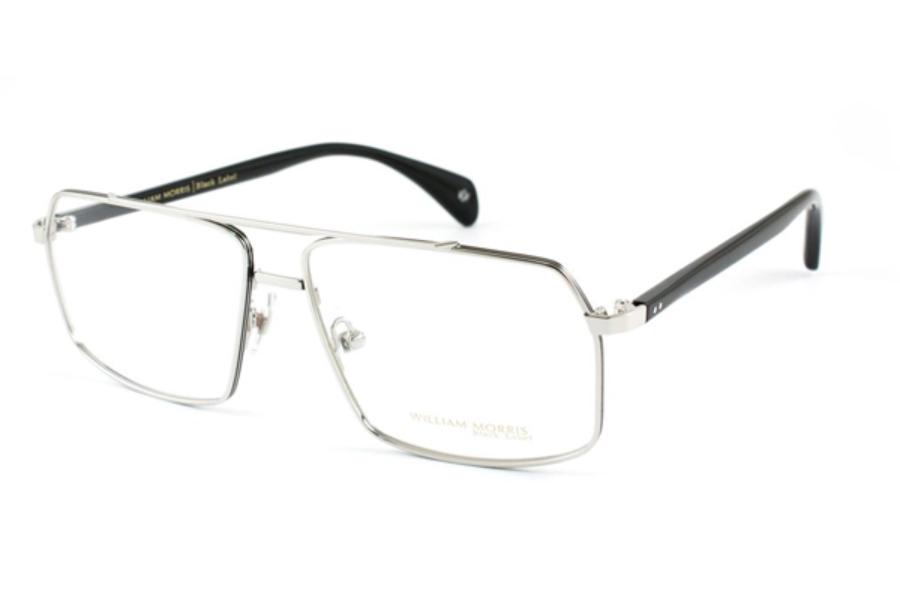 dc85a43c19734 William Morris Black Label BL 044 Eyeglasses in C2 Silver Black ...