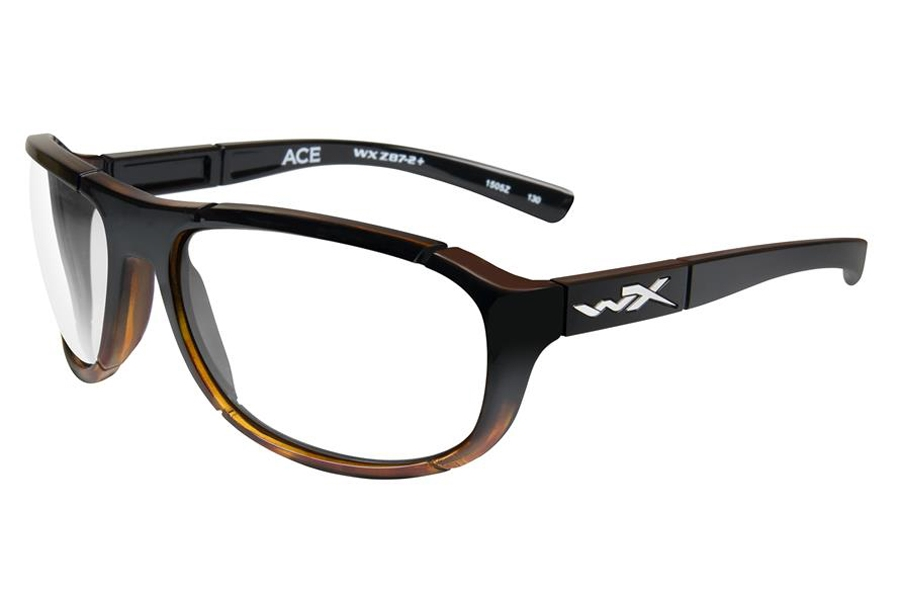 Wiley X WX ACE Eyeglasses in ACACE04F Gloss Tortoise Fade