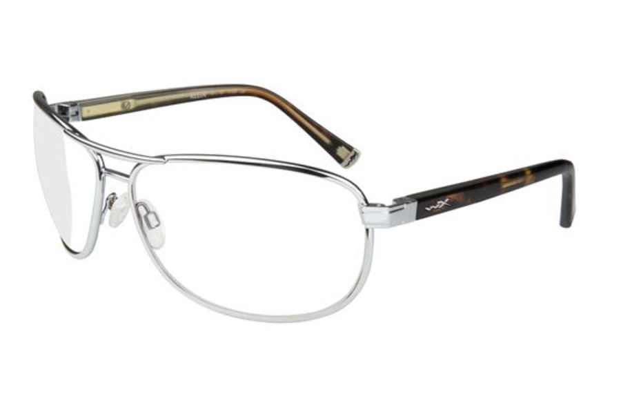 Wiley X WX KLEIN Eyeglasses in ACKLE02F Silver