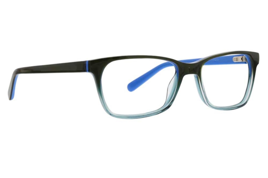 XOXO Portico Eyeglasses in Green/Blue