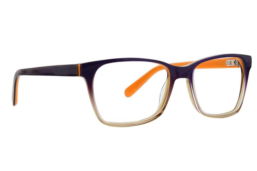 XOXO Portico Eyeglasses in Purple/Orange