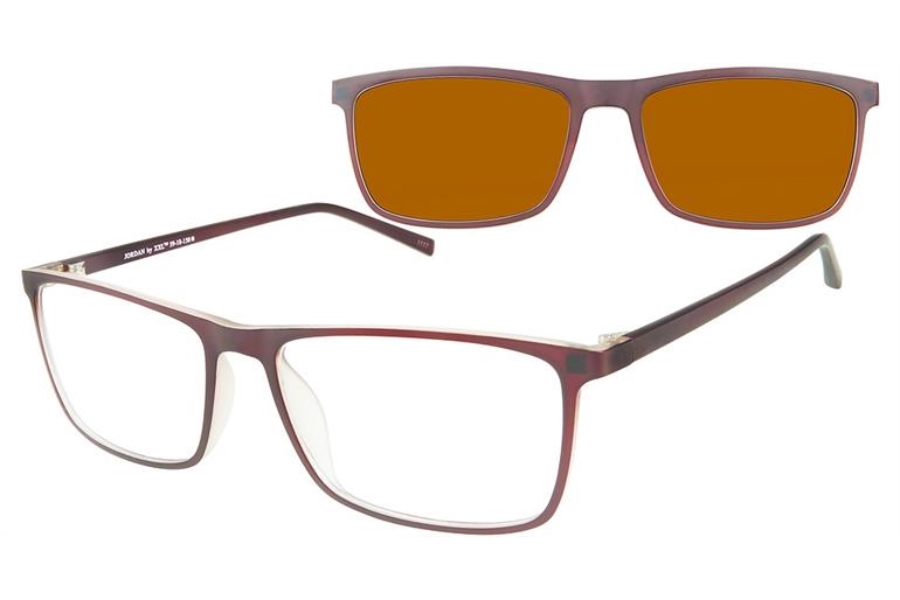 XXL Jordan Eyeglasses in Brown