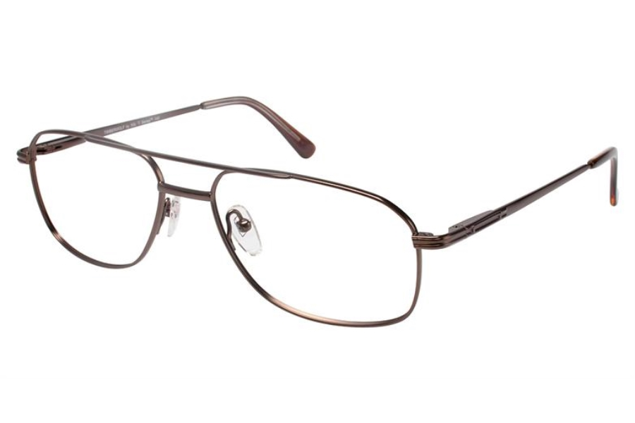 XXL Timberwolf Eyeglasses in Brown