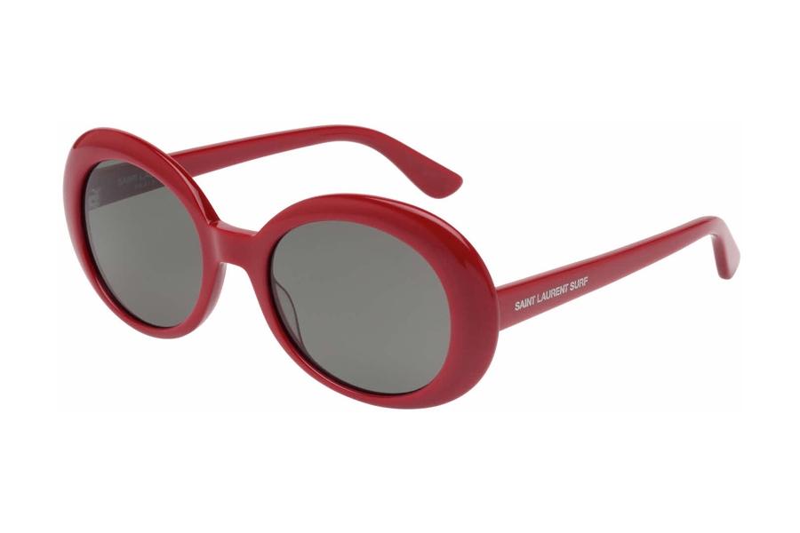 2fcb6bf576 Yves St Laurent SL 98 CALIFORNIA Sunglasses in 005 Red w  Smoke Lens ...