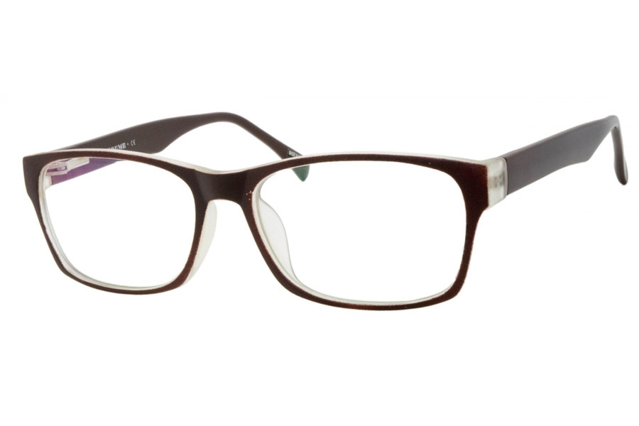 Youme P3205 Eyeglasses in C17 MCOFFEE