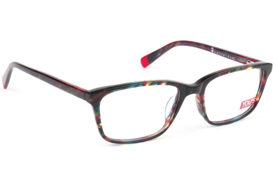YOU'S 1002 Eyeglasses in 1002-21 Red
