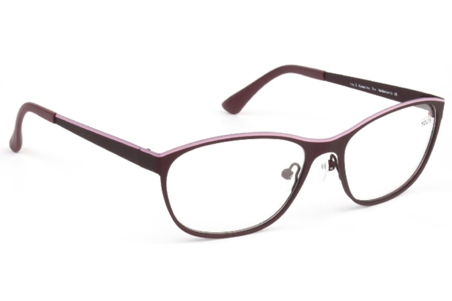 YOU'S 879 Eyeglasses in 205 Wine Red/Pink