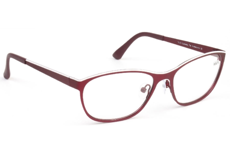 YOU'S 879 Eyeglasses in 21 Red/White