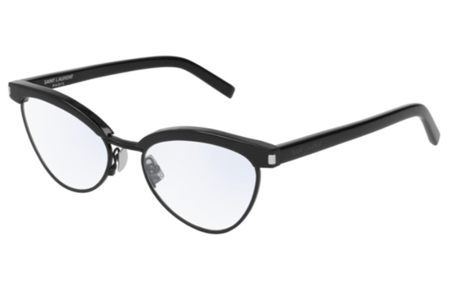 Yves St Laurent SL 218 Eyeglasses in 001 Black