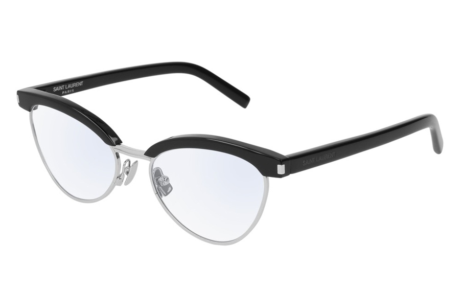 Yves St Laurent SL 218 Eyeglasses in 002 Black