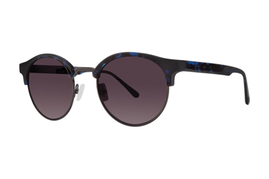 Zac Posen Siegal Sunglasses in Blue Tortoise