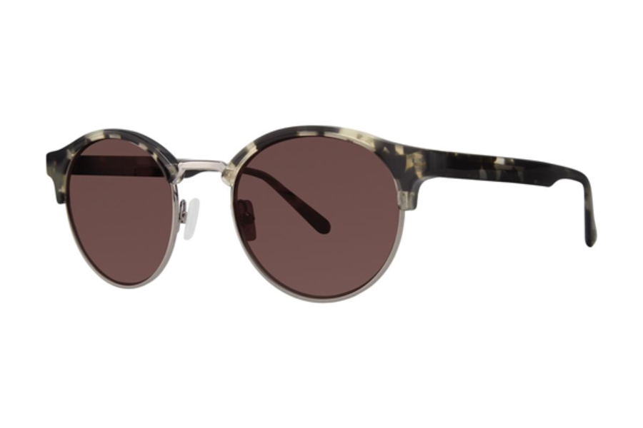 Zac Posen Siegal Sunglasses in Grey Tortoise