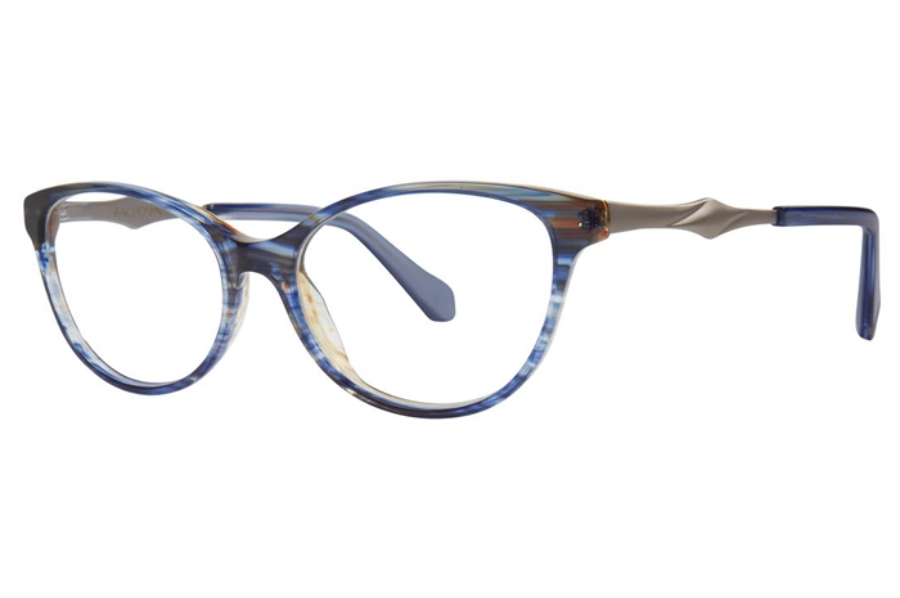 Zac Posen Farida Eyeglasses in Blue