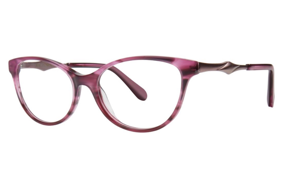 Zac Posen Farida Eyeglasses in Purple