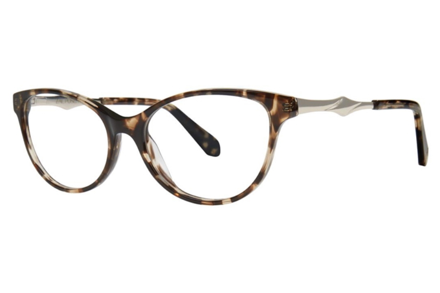 Zac Posen Farida Eyeglasses in Tortoise