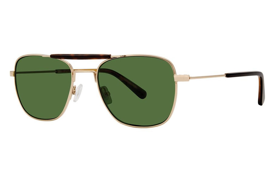 Zac Posen Brock Sunglasses in Gold