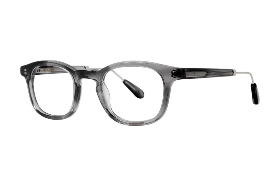 Zac Posen Huxley Eyeglasses in Smoke Crystal