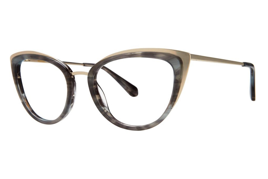 Zac Posen Jeanie Eyeglasses in Smoke