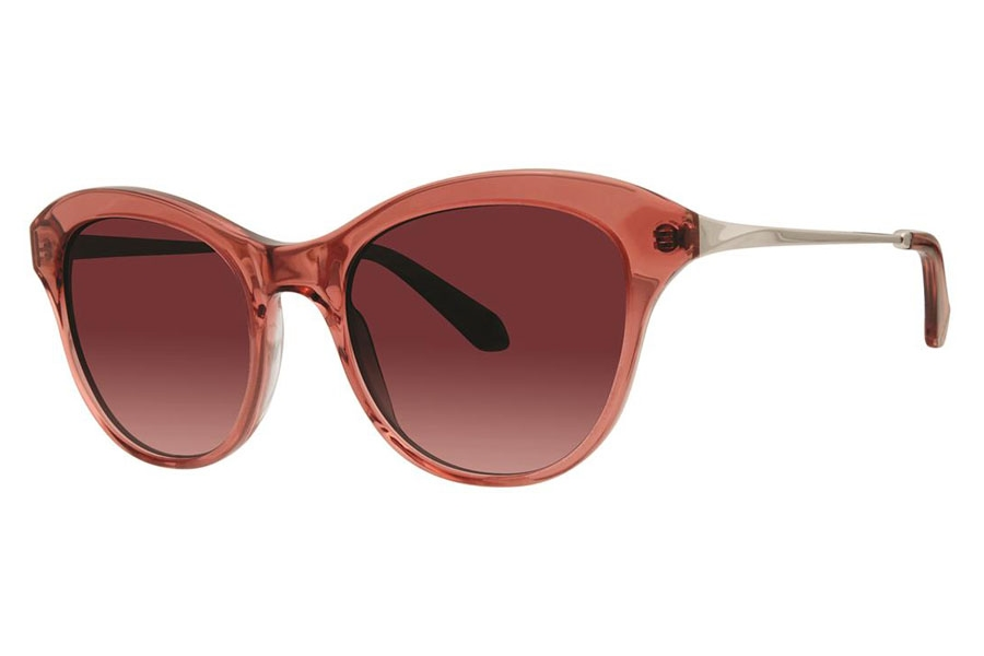 Zac Posen Jolene Sunglasses in Pink