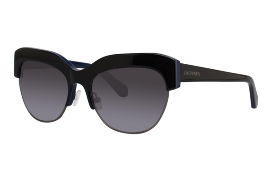 Zac Posen Kouka Sunglasses in Navy
