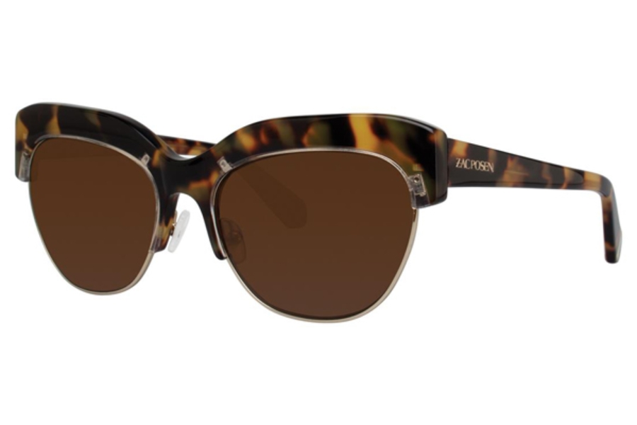 Zac Posen Kouka Sunglasses in Tortoise
