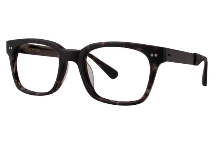 Zac Posen Micha Eyeglasses in Gray Tortoise