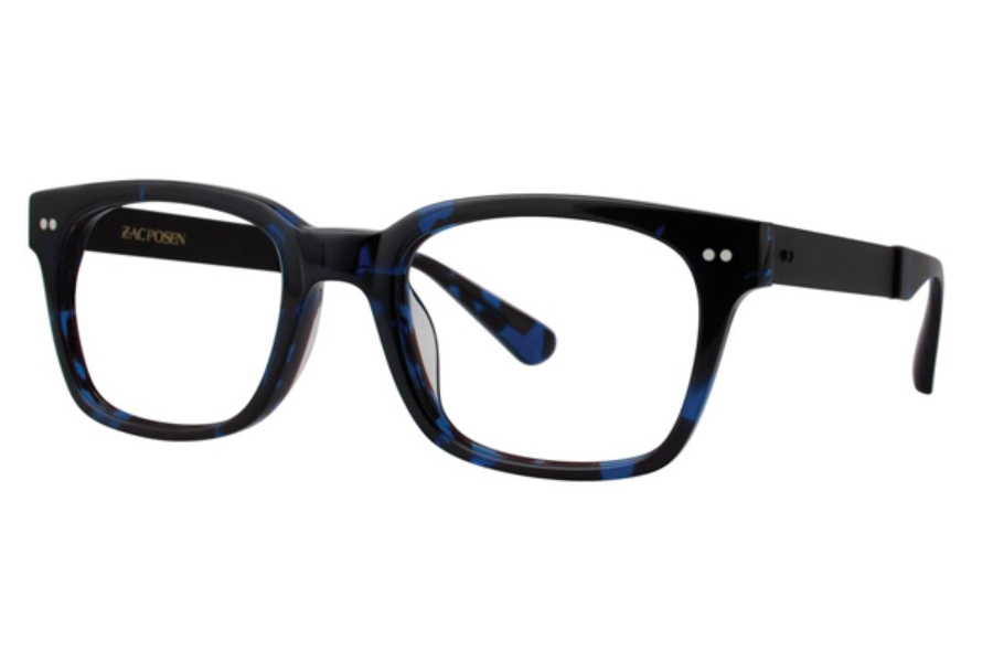 Zac Posen Micha Eyeglasses in Navy Tortoise