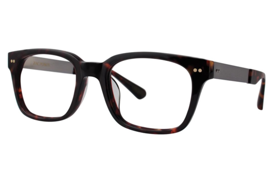 Zac Posen Micha Eyeglasses in Tiger Tortoise