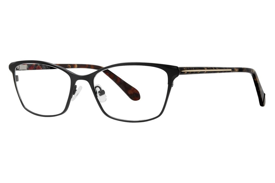 Zac Posen Sabra Eyeglasses in Graphite