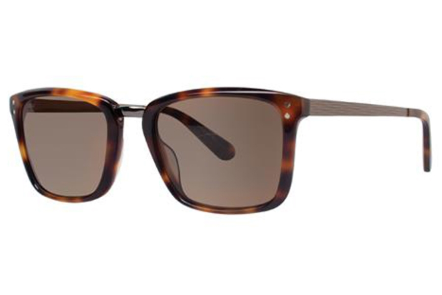 Zac Posen Marcelo Sunglasses in Tortoise