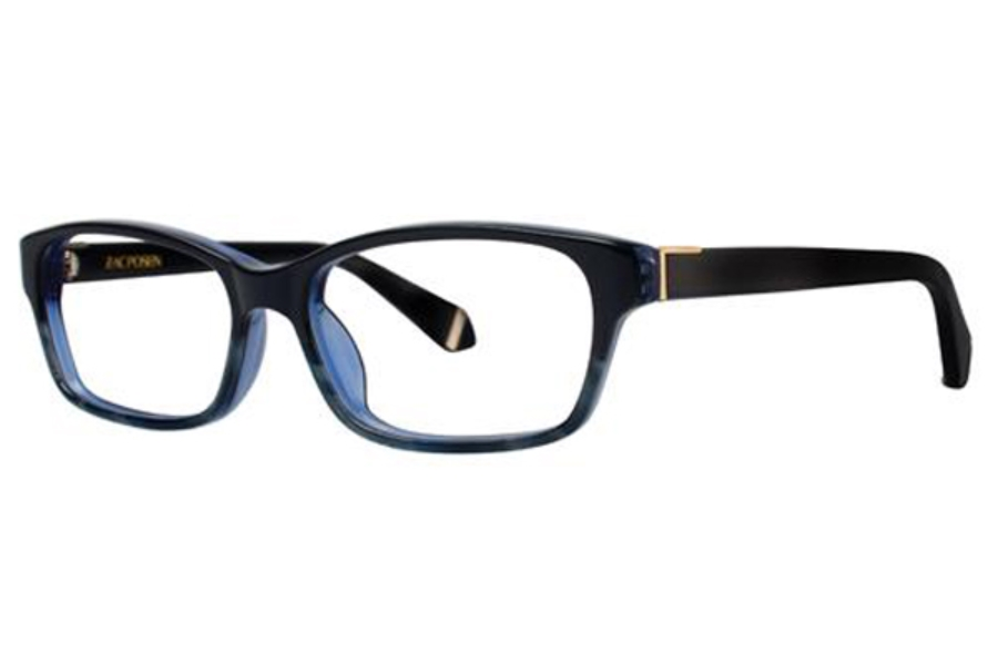 Zac Posen Natalya Eyeglasses in Blue (51 Eyesize Only)