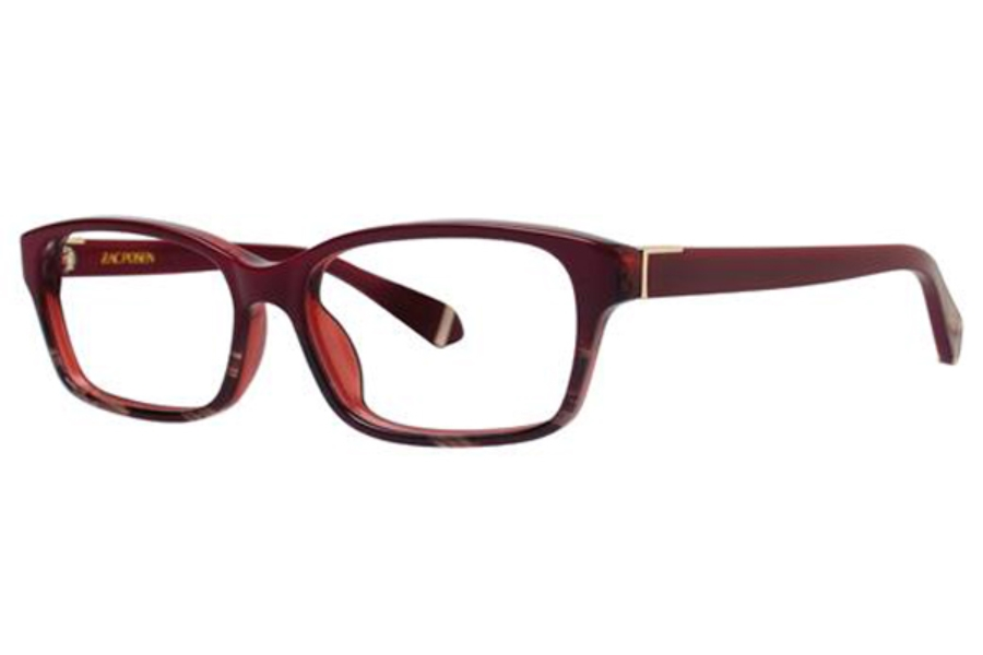 Zac Posen Natalya Eyeglasses in Burgundy