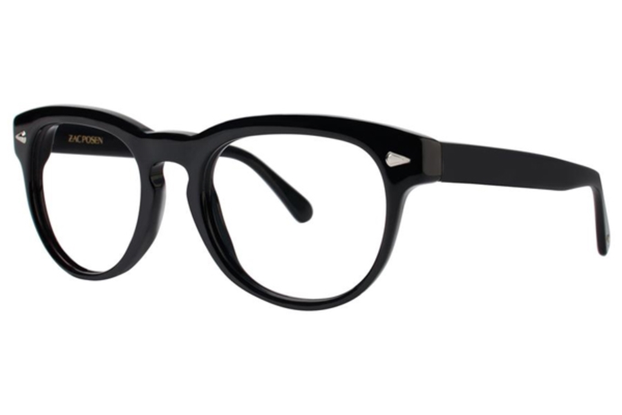 Zac Posen Serge Eyeglasses in Black
