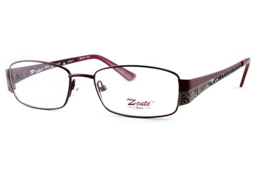 ZCute ZC 759 Eyeglasses in Burgundy-PTR