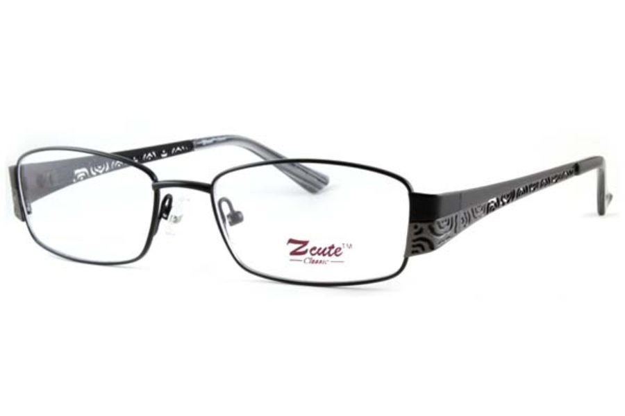 ZCute ZC 759 Eyeglasses in Matte Black-PTR