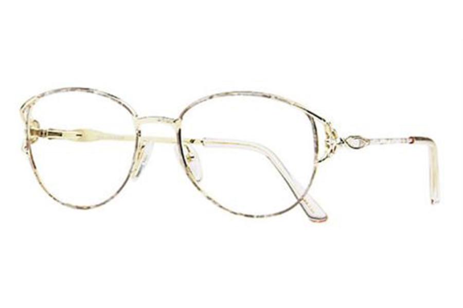 8dc7d5723e8 Sophia Loren Sophia Loren M48 Eyeglasses in 306 Satin Beige Cloud ...