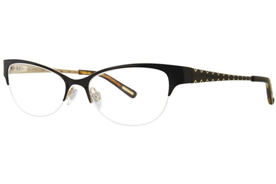 Via Spiga Via Spiga Odetta Eyeglasses in 500 Black