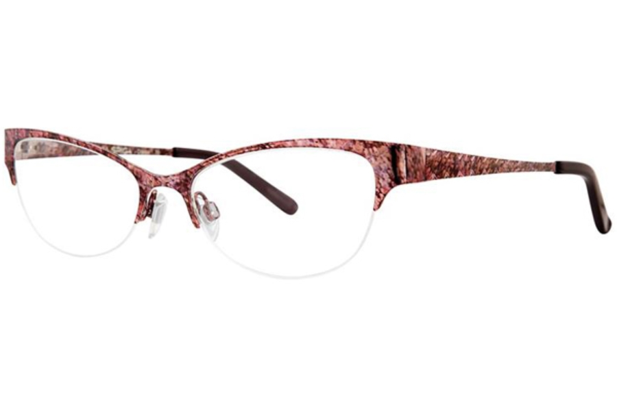 Via Spiga Via Spiga Odetta Eyeglasses in 710 Berry Multi