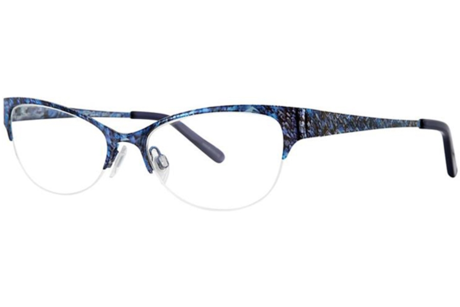 Via Spiga Via Spiga Odetta Eyeglasses in 790 Blue Multi